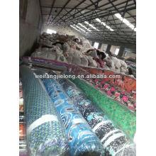 печатных закрученная район ткани для женщин платье
