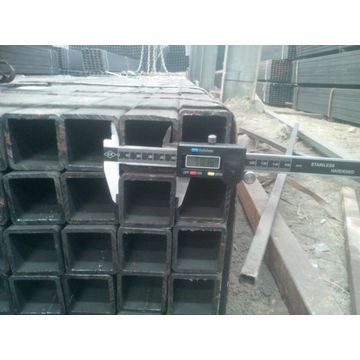 China Ms tubes carrés / Construct pipeQ235 / SS400 Section creuse carrée ASTM A500 IN DUBAI