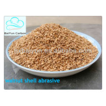 dry walnut shell for water filtration/abarsive/polishing