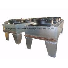 Enfriador refrigerado por aire con aletas de aluminio para el proceso de pintura