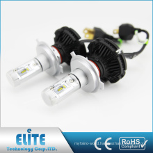 X3 H4 6000lm 25W DC9V 32V PHI-ZES Bulb led headlight Hi Lo Pure White Beam conversion kits factory hot sales Auto Parts