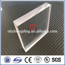 Panneau en polycarbonate en relief / polycarbonate gaufré incassable