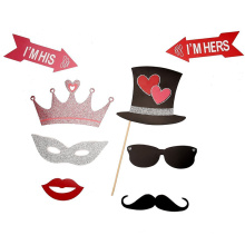 FQ marca glitter nova festa de design tirar foto papel artesanal
