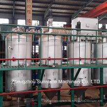 Sojaöl-Raffinerie-Anlage-Erdölraffinerie-Anlage 2t / D