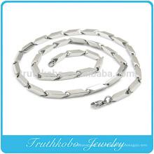 TKB-RN0044 Flecha lateral única Collar de acero inoxidable 316L de la joyería de plata pesada enorme enorme