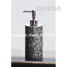 Distributeur de savon en polystadine au grès