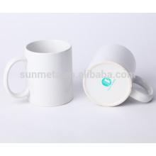 11oz branco em branco sublimação revestido canecas yiwu fábrica