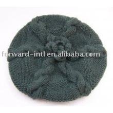 chapeaux en cachemire tricotés à la main