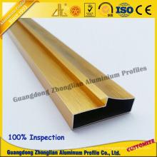 Perfil de aluminio de la marca conocida de China para el perfil de los muebles