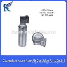 aluminium auto a/c receiver drier filter for Renault Laguna