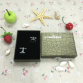Caja de regalo de clip de corbata de papel