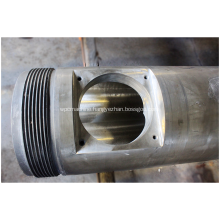 55/110 Extrusion PVC Pipe Conical Twin Screw Barrel