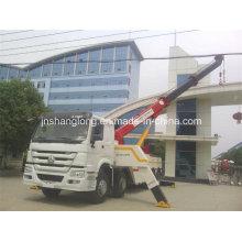 HOWO 8X4 caminhão pesado do Wrecker do reboque da estrada da recuperação de 40 toneladas