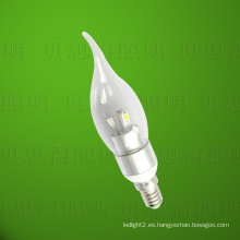 Luz de la vela de Bentend del LED 4W