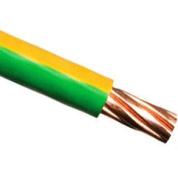 cable eléctrico amarillo / verde conductor de cobre1.5 2.5 4 6 10 12 14 1 6 mm2