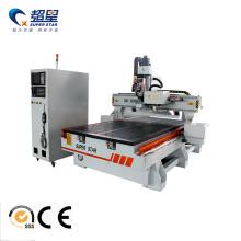 Roteador para carpintaria CNC com trocador de ferramentas