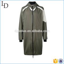 Chaqueta larga con capucha para hombre abrigo y chaqueta militar