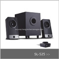 Perfect sound quality multimedia speakers