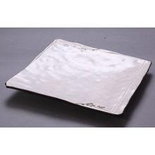 Spa Bone Porcelain Dinnerware Sets , Japan Square Plate Ceramic Plate Yx-02c