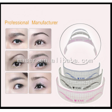 2015 New Arrival Permanent Makeup Plastic Eyebrow Ruler ,U -Type Eyebrow Ruler.