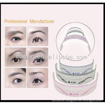 2015 New Arrival Permanent Makeup Plastic Eyebrow Ruler ,U -Type Eyebrow Ruler.