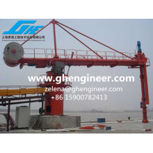 Continuous Mobile Vertical Screw Type Ship Unloader 800tph for Coal and Cement