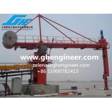 Непрерывный передвижной вертикальный винтовой тип 800 т / ч для угля и цемента