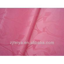 Promoción de tela africana Damasco Bazin nigeriano moda Brocade ropa barata Feitex China
