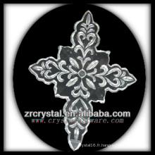 K9 Lustre en cristal avec sculpture