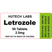 USA domestic Letrozole 2.5mg 50 tablets