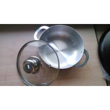 Alumínio Caldero e utensílios de lixar