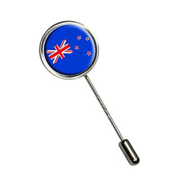 Fashion New Zealand Flag Stick Hat Brooch Pin