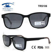 Latest High Quality Beautiful Fashion Tr90 Sunglasses (TRS106)