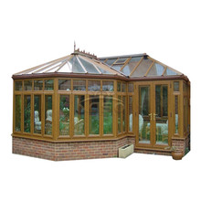 Casa de madeira pronta para telhado de jardim Marquise portátil