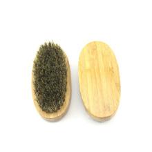 Ebay logotipo personalizado bambu javali pêlos barba escova