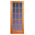 2 Panel Arch/Square Top Alder Solid Wood Door