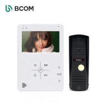 China Intercom supplier water proof monitor visual intercom system doorbell inter phone door bell systems