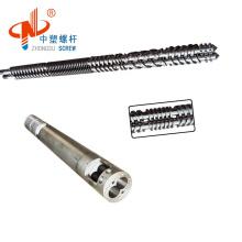no minimum parallel twin screw  barrel for plastic machine