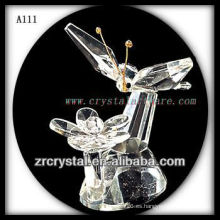 Bonita estatuilla de animales de cristal A111