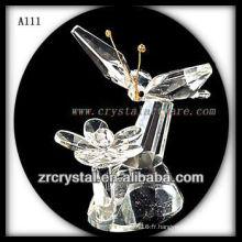 Belle figurine animale en cristal A111