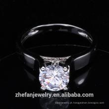 novas chegadas 2018 anel de jóias de moda cz anel de casamento