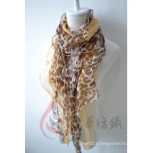 Echarpe en mousseline de soie (12-BR050320-25)