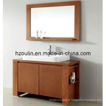 Mobília de madeira moderna do banheiro (BA-1133)
