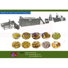 Cheese / Rice / Wheat / Corn Flake Machinery, Snack Food Production Line