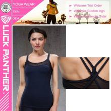 Atacado Dri Fit Aberto Sexi Sexy Nude Menina Foto Body Building Tanque Vest