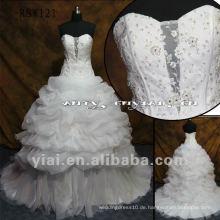 RSW121 Großes Organza-Rock-Hochzeits-Kleid