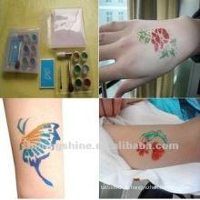 Schmetterling Glitter Tattoo neu