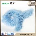 Hot Sale Curly Lamb Fur Tibetan Lamb Fur Scarf