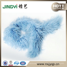 Wholesale Tibet Lamb Fur Wool Scarf
