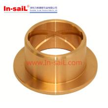 Hecho en la pieza dada vuelta de cobre amarillo que trabaja a máquina del CNC del proveedor de China